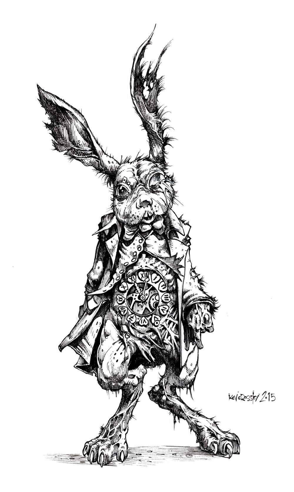 White Rabbit by Kev Crossley