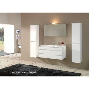 Meuble salle de bain Clara 100/120cm Salle de bain Pinterest