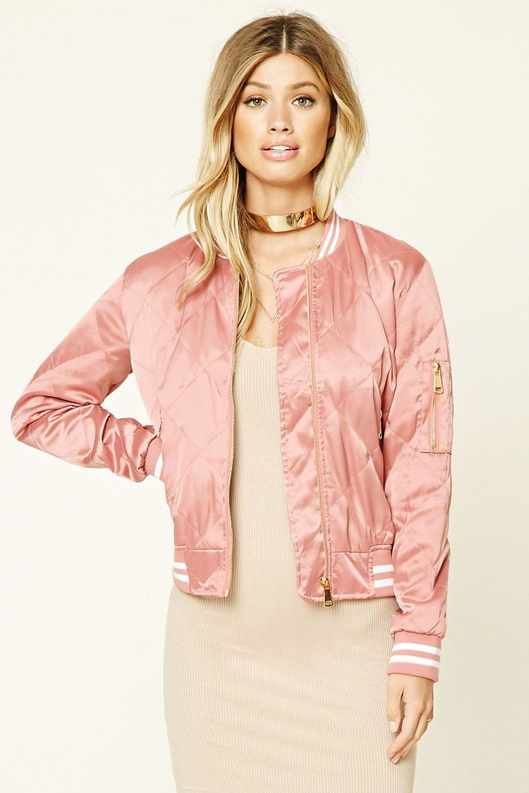 cf8939d85 Twelve Quilted Satin Bomber Jacket | Clothes & Accessories | Satin ...