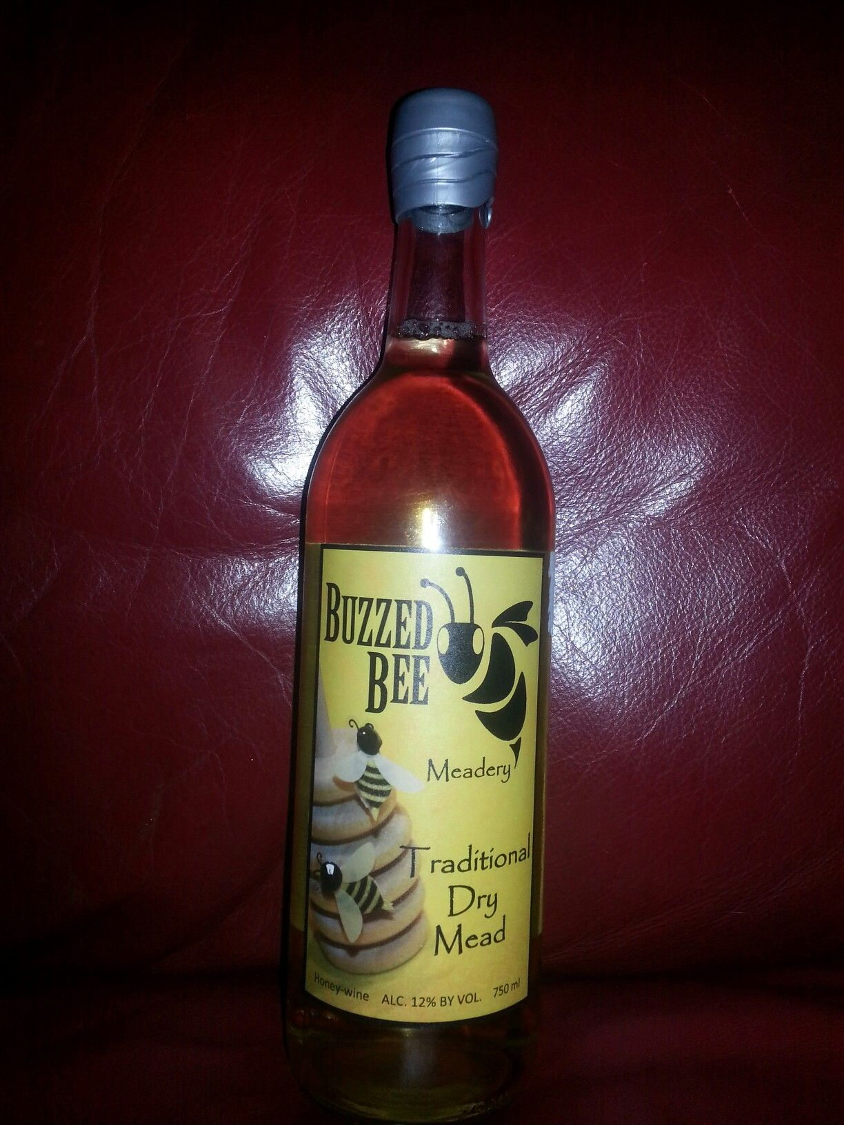 Buzzed Bee Traditional Dry Mead by Buzzed Bee Meandery, Inc. of Melbourne, iowa