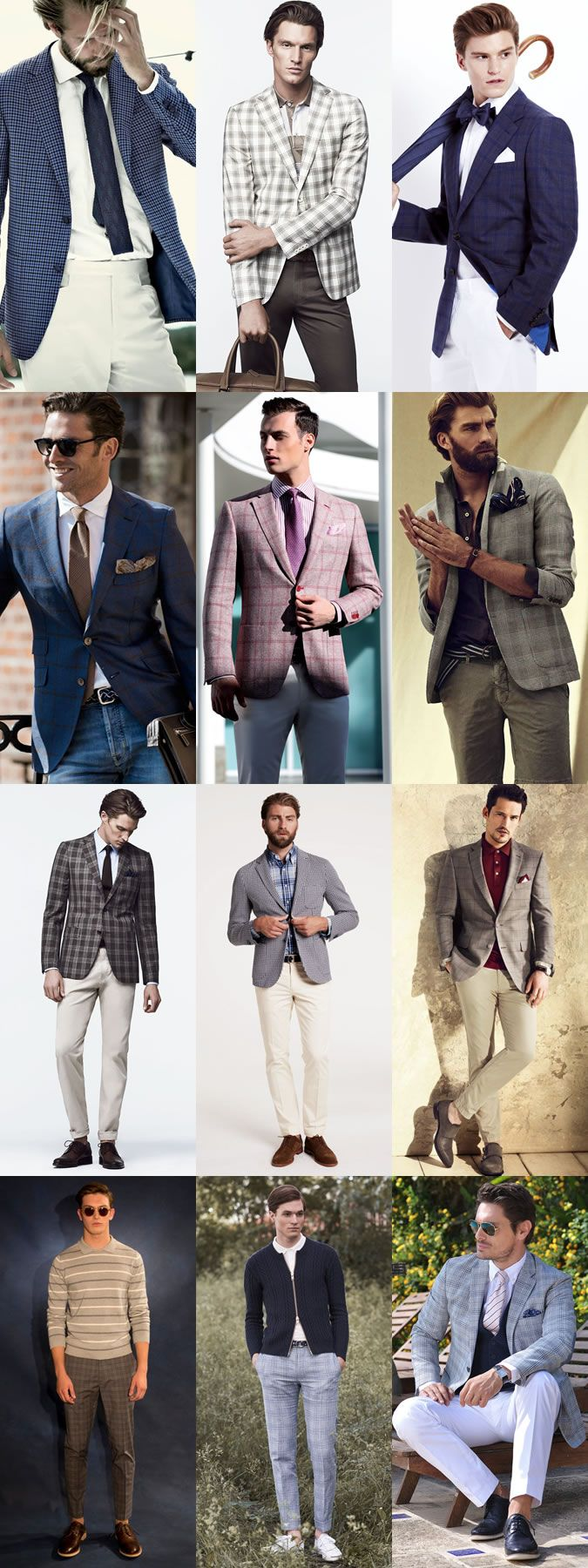 Boost Your 2014 Spring/Summer Style with Lighter Plaid in ...