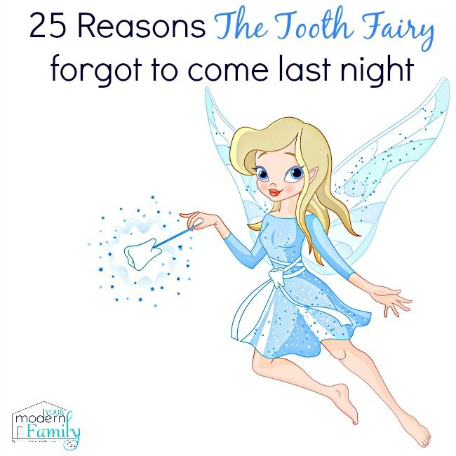 Oh No The Tooth Fairy Forgot To Come Last Night Here S