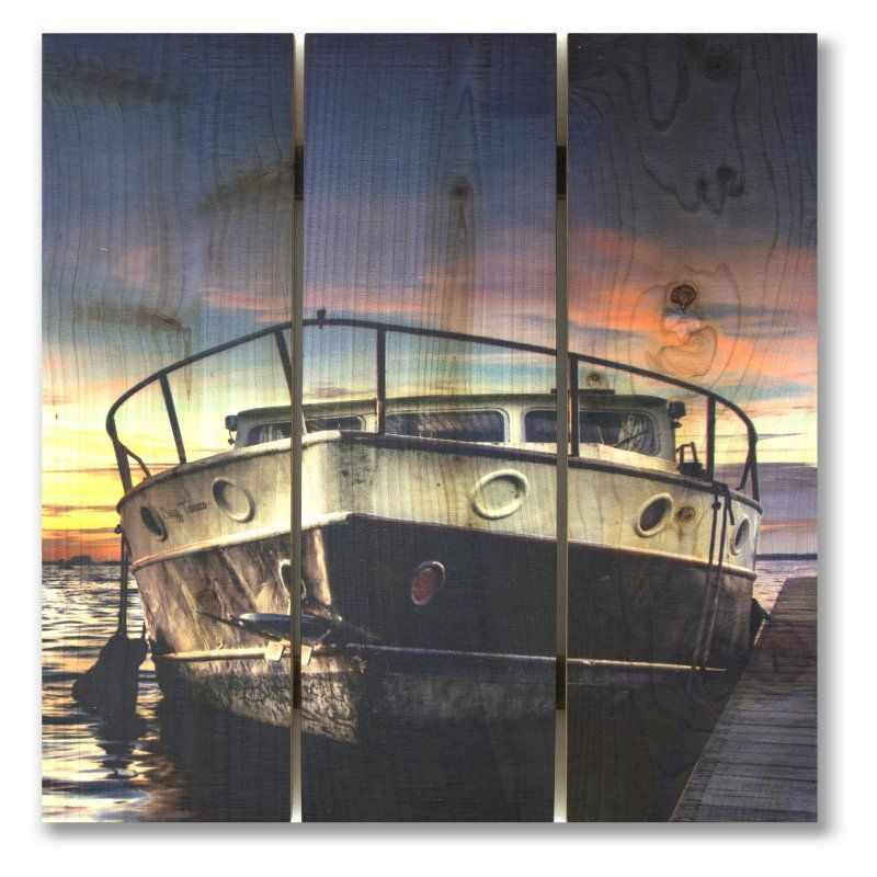 Gizaun Art Nautical Nights Indoor/Outdoor Wall Art - NN1624