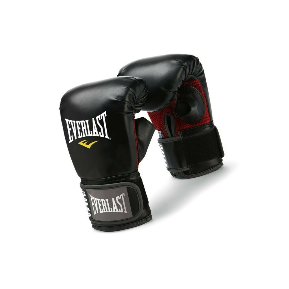 Everlast MMA Kick Boxing Gloves Martial Arts Sporting Punching Training Aid New