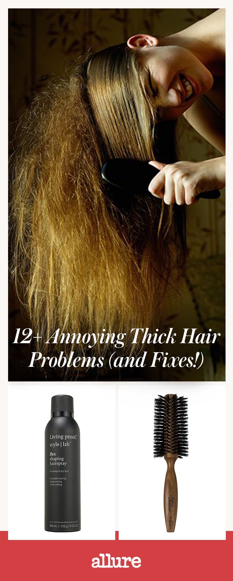 The 12 Most Annoying Thick Hair Problems (and Fixes!)