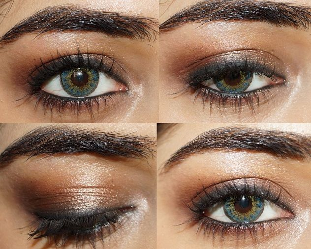 Glamorous Neutral eye makeup Tutorial with Lakme Absolute | Makeup ...