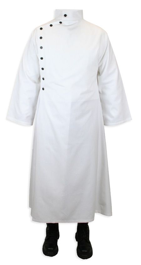 Doctor Coat Fancy Dress Costume Lab Jacket Surgeon Crazy Mad Scientist