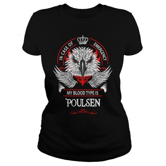 I Love  POULSEN, POULSEN T Shirt, POULSEN Tee T shirts