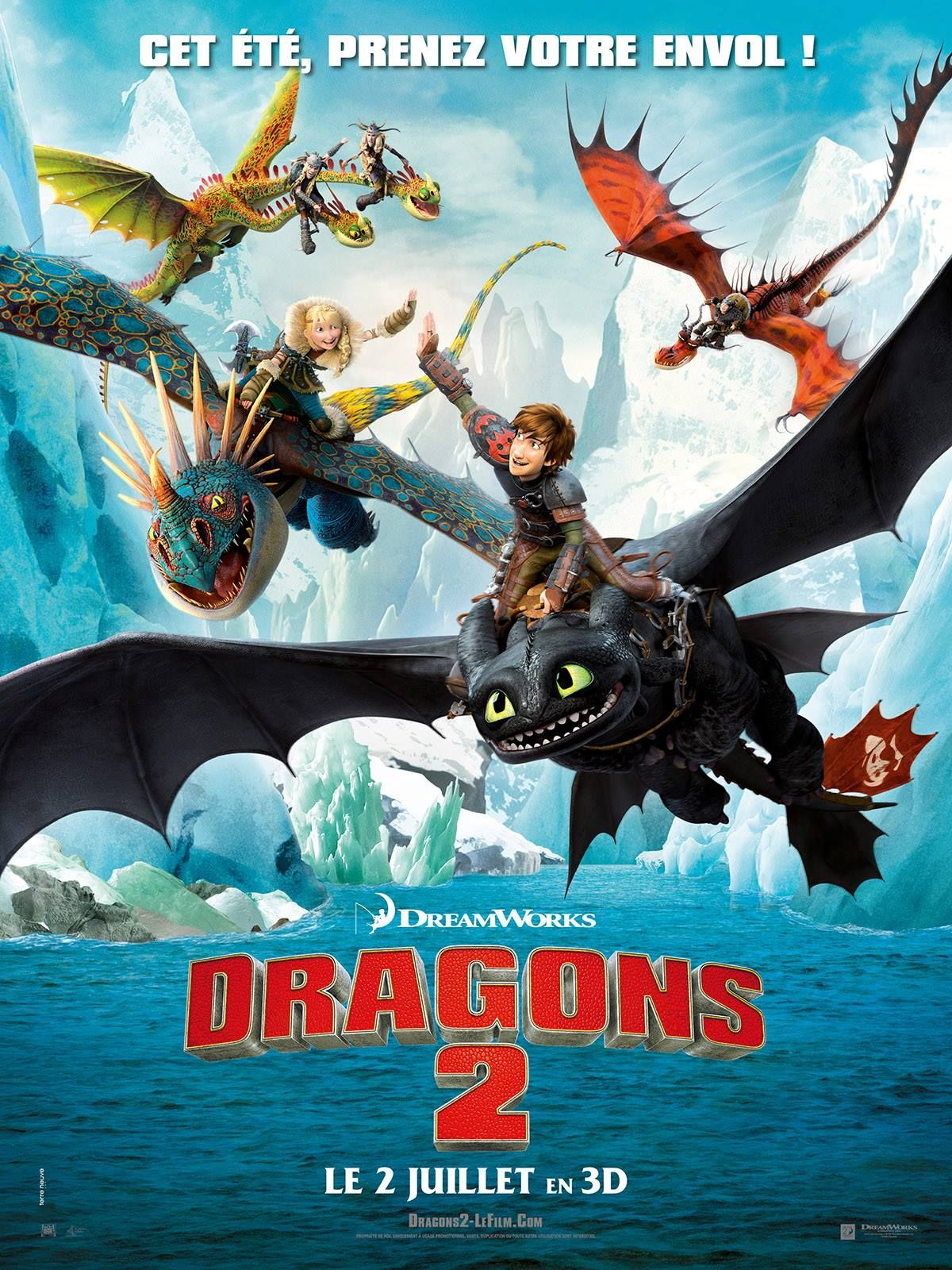 How To Train Your Dragon 2  Movie Poster Land  How To -9284
