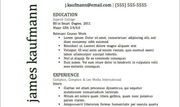 The 41 Best Resume Templates Ever Resume Design Best resume