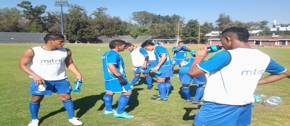 .:: El Salvador Fútbol   Noticia: La selección Sub-20 de El Salvador entrena en el DF ::.