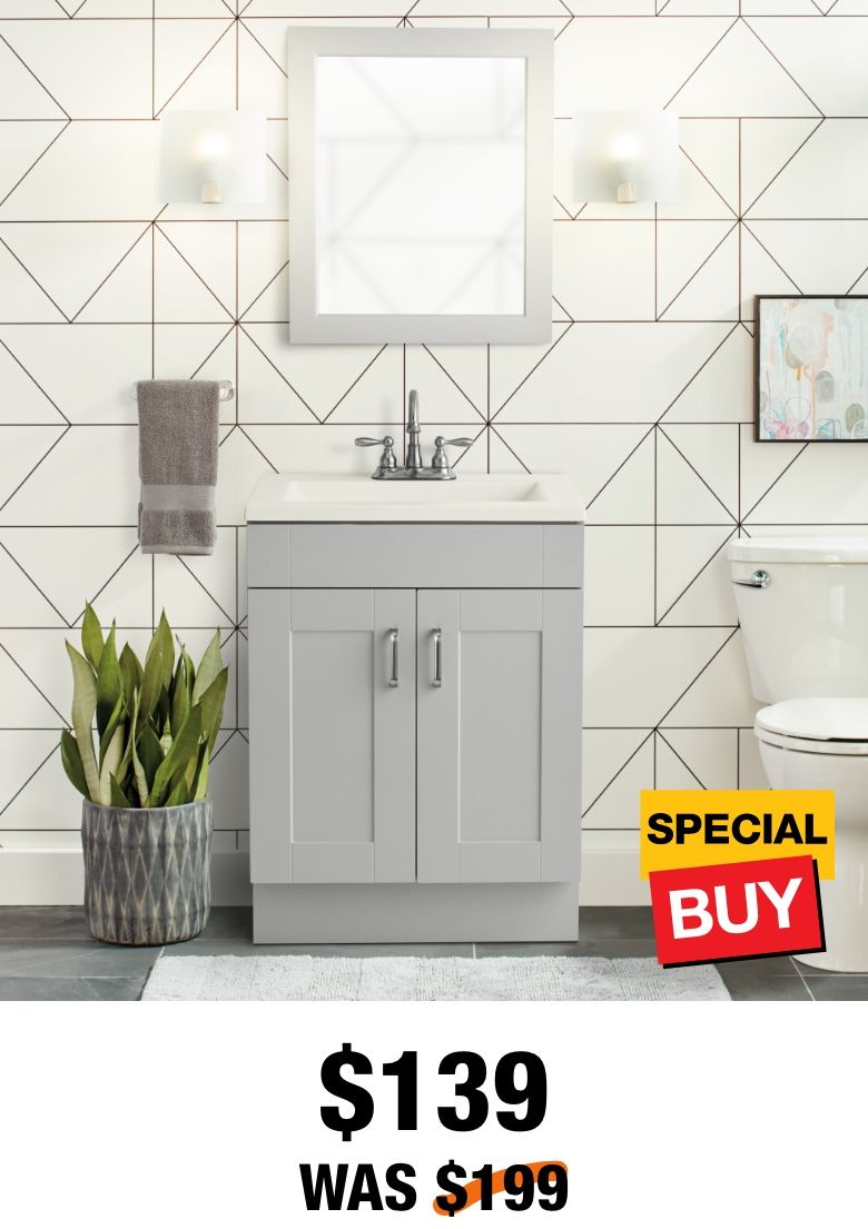 Bath Bathroom Vanities Bath Tubs Faucets In 2020 Home Depot