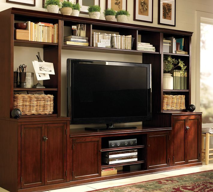 pinterest wall units | Logan wall unit from Pottery Barn | Home Sweet Home