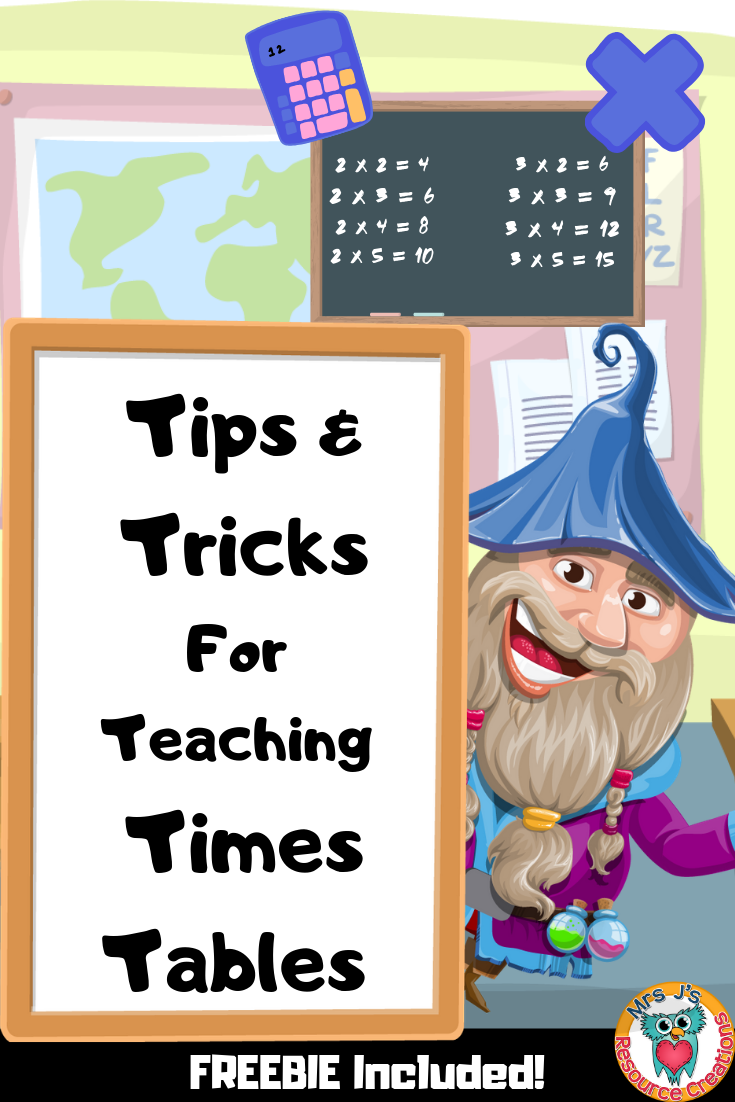 How To Teach Times Tables To Kids Tips And Tricks For Multiplication Facts 1 12 Free Math Worksheet Inc Teach Times Tables Teaching Teaching Multiplication [ 1102 x 735 Pixel ]