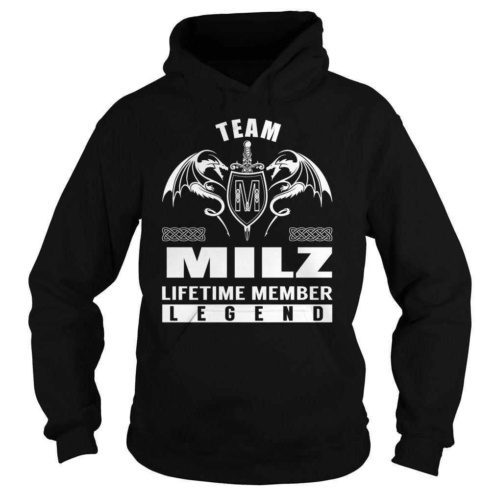 Team MILZ Lifetime Member Legend - Last Name, Surname T-Shirt