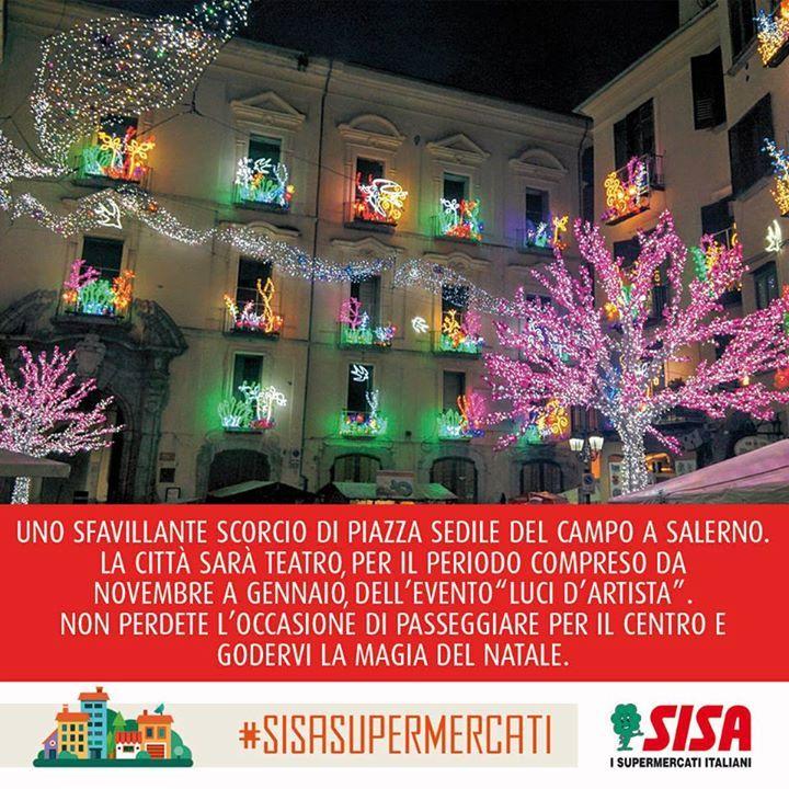 A Salerno è già Natale con le Luci d'Artista e il #weekend è il momento giusto per visitare questa splendida città! :)  OFFERTE SISA CAMPANIA >> http://bit.ly/OFFERTE-Campania-Molise  SISA PUGLIA >> http://bit.ly/OFFERTE-PUGLIA  ISSIMO >> http://bit.ly/ISSIMO-SISA  #SISAsupermercati Luci d'Artista - Salerno Top Supermercati SISA Pettorino - Torre Annunziata SISA Politico Supermercati Sisa Le Galassie Supermercato SISA Il Vecchio Mulino