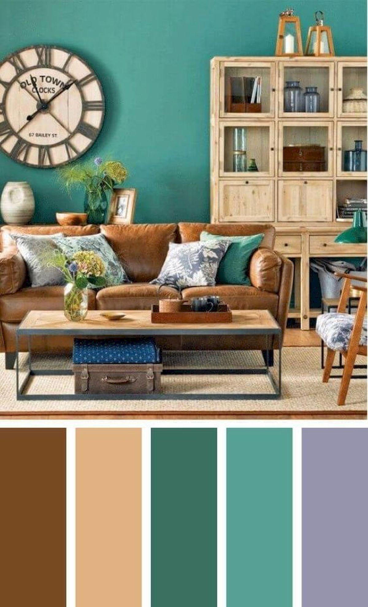 40 Gorgeous Living Room Color Schemes Ideas Choosing Living Room Colors Living Room Color Schemes Room Color Schemes Updated living room colors