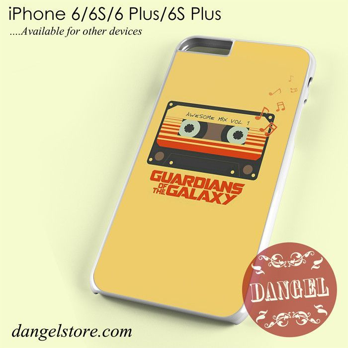 Guradian Of The Galaxy Awesome Mix Vol. 1 Phone Case for iPhone 6/6s/6 Plus/6S Plus
