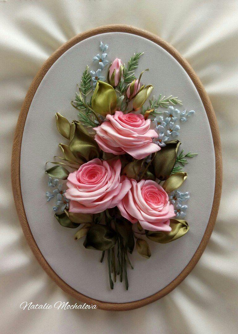 Наталья Мочалова ВКонтакте flower crafts pinterest ribbon