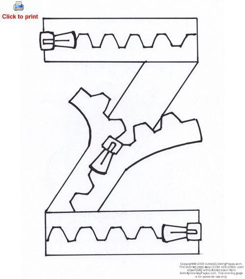 letter z crafts - Google Search | Alphabet Letters Q-R-S-T ...