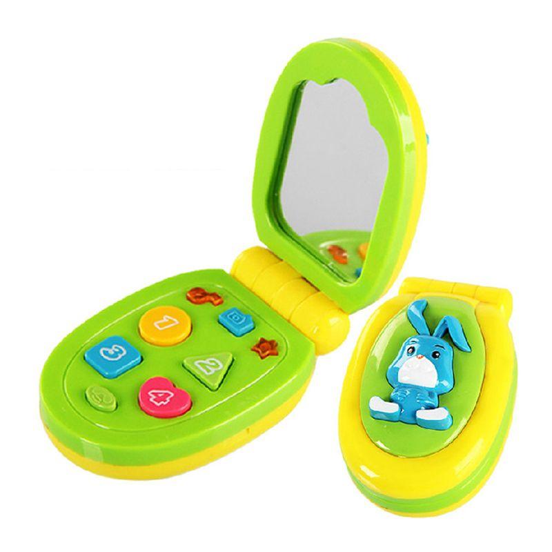 아기 장난감 사운드 교육 학습 아기 셀룰라 전화 음악 전화 장난감 어린이 교육 장난감
