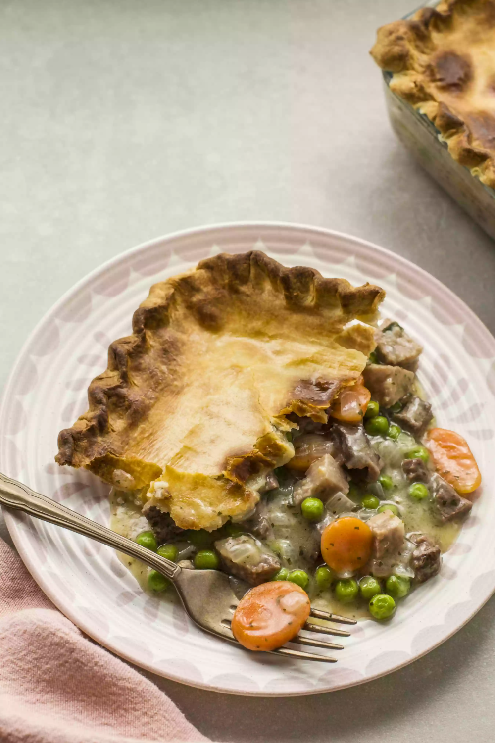 Leftover Steak Pot Pie With Vegetables | Recipe | Beef pot ...