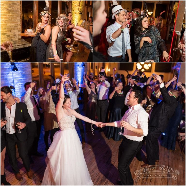 Awesome Wedding Reception Dancing Party At Anodyne Coffee Shop In