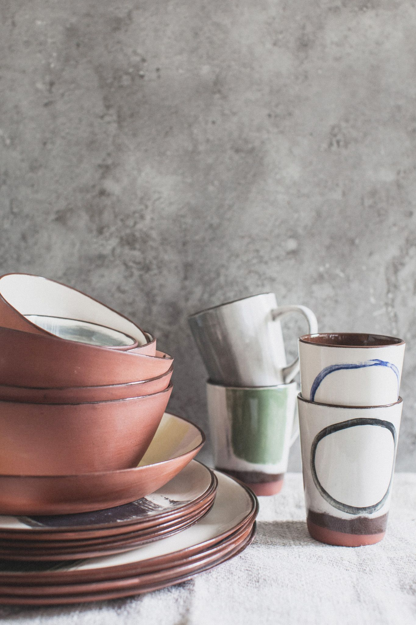 Silvia K Ceramics Tableware Set All The Intellectual Property In These Designs Belongs To Silvia K Ceramics Any Infr Ceramic Tableware New Ceramics Pottery