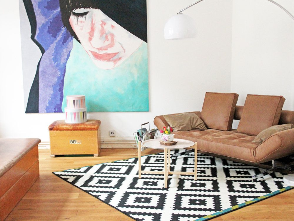 Vintage wohnzimmer ~ Happy living mit kontrast vintage und ikea vintage