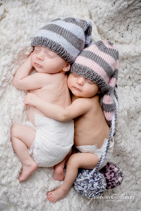 Theres nothing sweeter than newborn twins together