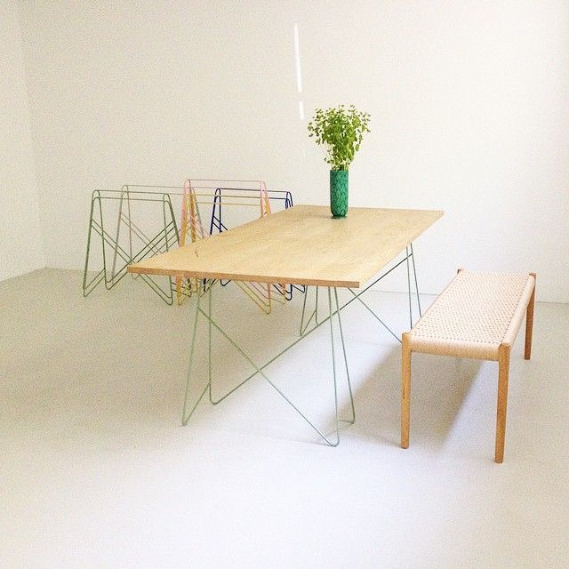#bordbord #scandinaviandesign #table #studio #trestles #colors #interiordesign