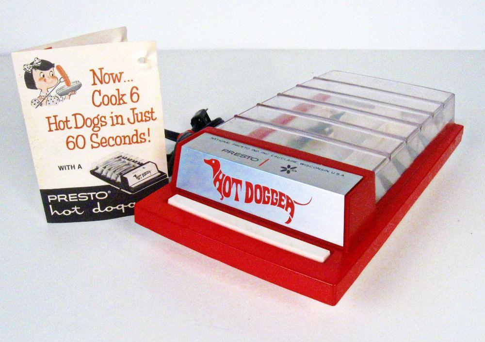 Vintage Presto Hot Dogger Hot Dog Cooker Hot Dogs Electricity Vintage