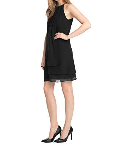 ESPRIT Collection Women's sleeveless Dress -  Black - Schwarz (BLACK 001) - 8 Esprit http://www.amazon.co.uk/dp/B00OZKVAF0/ref=cm_sw_r_pi_dp_Srnjvb01ZRY33