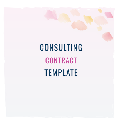 Consulting Contract Template From The Contract Shop