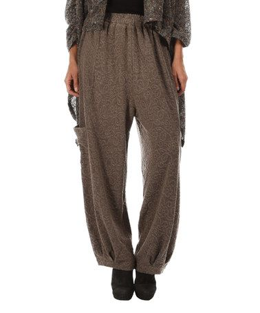 Look what I found on #zulily! Gray Wide-Leg Pants #zulilyfinds
