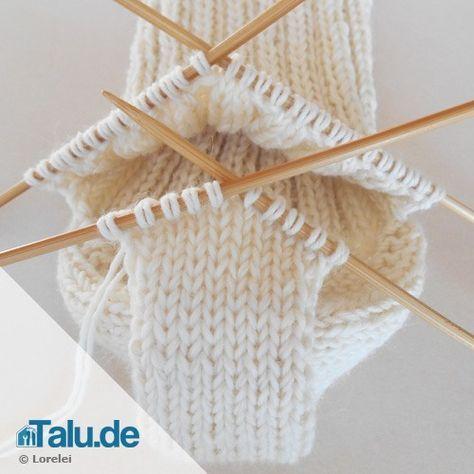 Photo of Socken stricken – die Ferse – einfache DIY-Anleitung – Talu.de