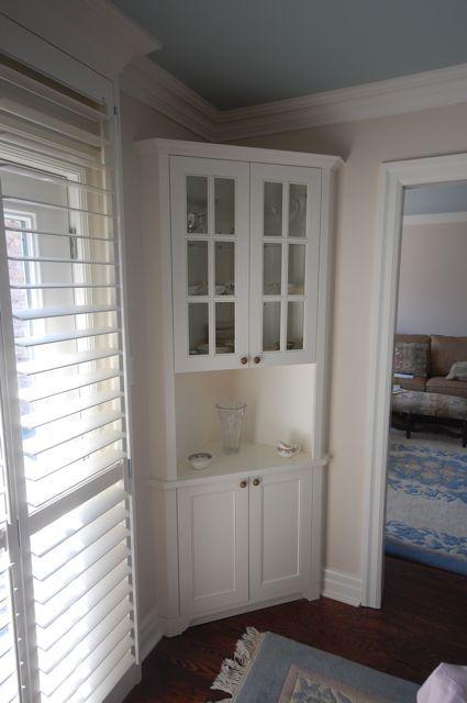 Dining Room Corner Cabinet For The Home Pinterest