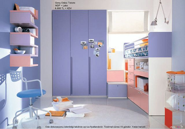Kids Room, Blue Kids Room Design For Girl With Blue Wardrobe Design Ides  With Kids Room Furniture Ideas With Pink Chest Of Drawer Design And Kids  Bedroom ...