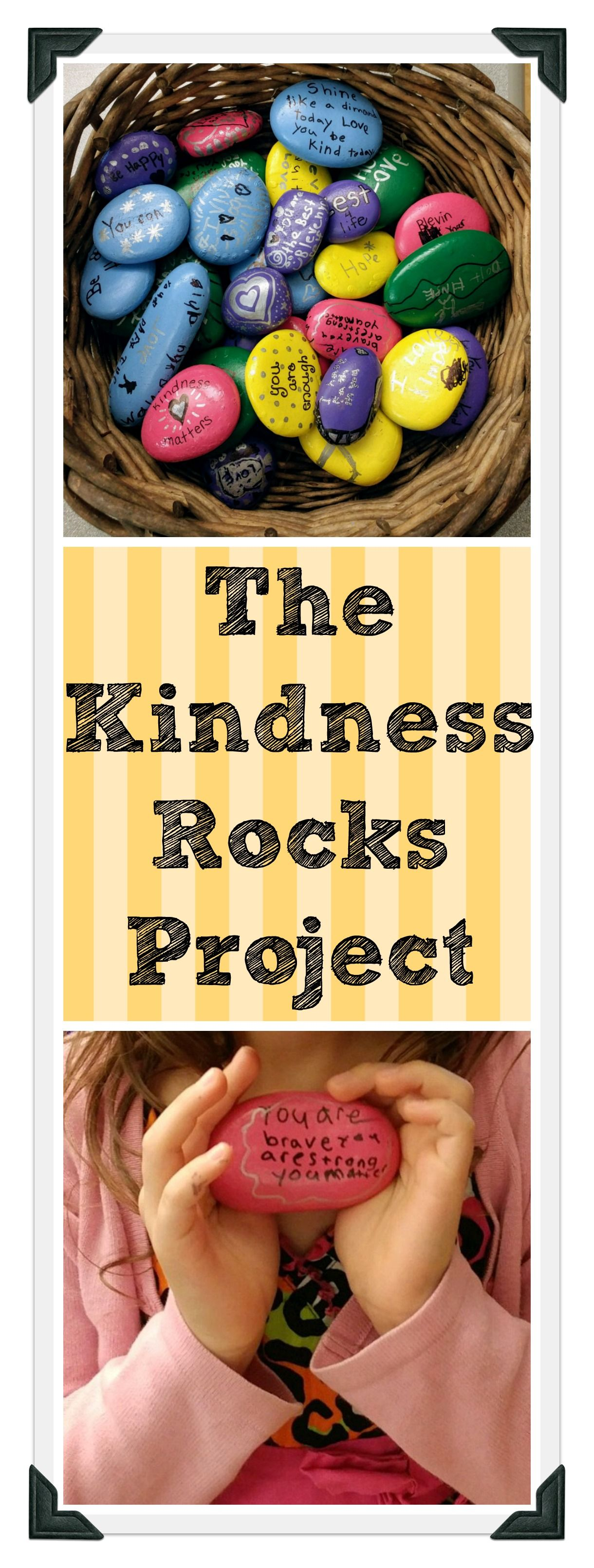 Find Out How One School Implemented Kindness Rocks To Spread Kindness And Positivity