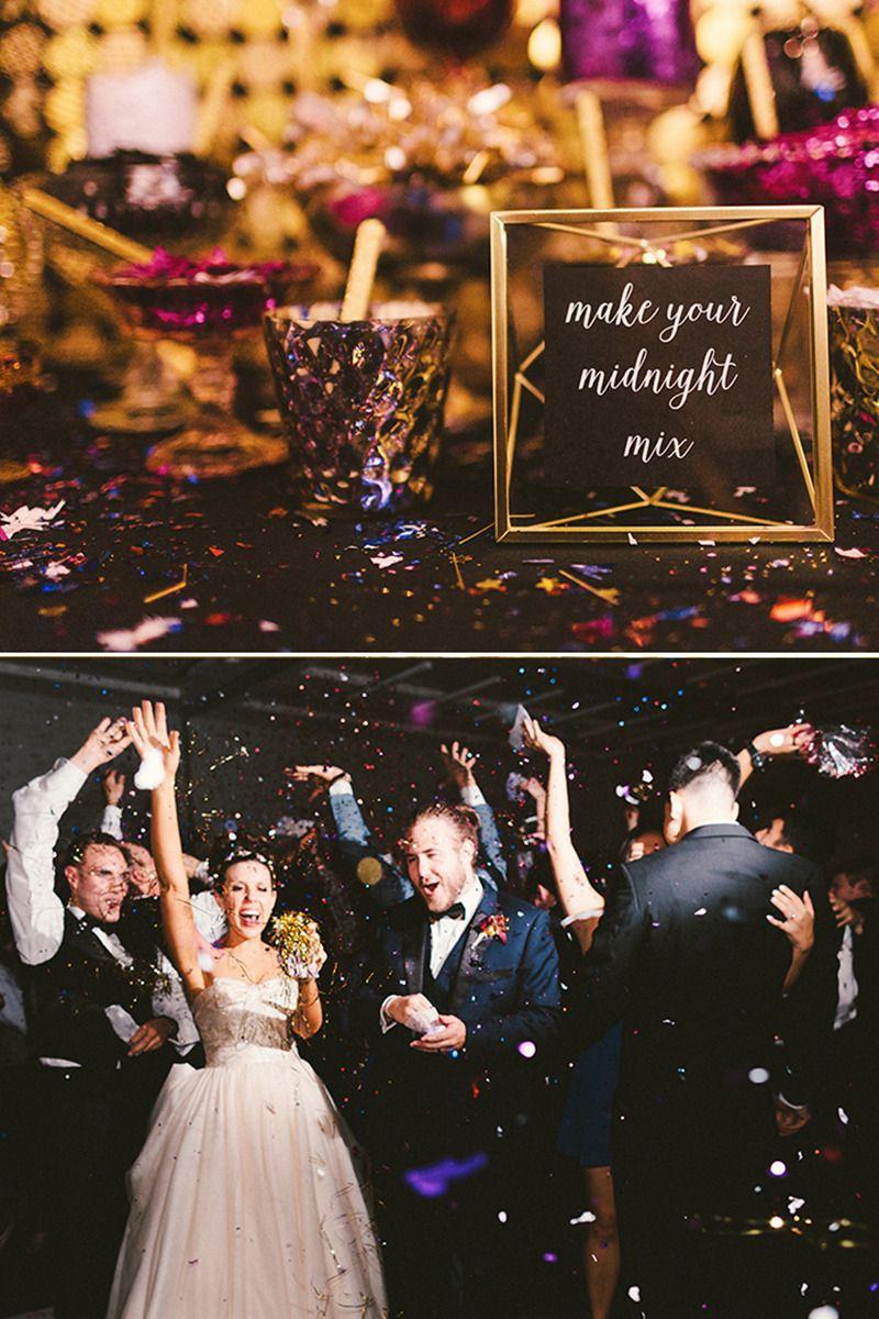 3b0e80c0105 Having a New Year s Eve wedding  Create your own glitter bar