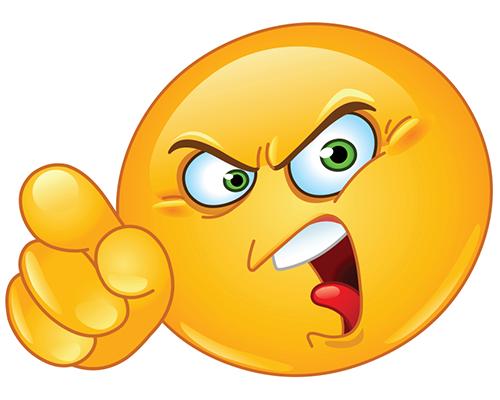 Facebook Mad Smiley Funny Emoticons Funny Emoji Faces Funny Emoji