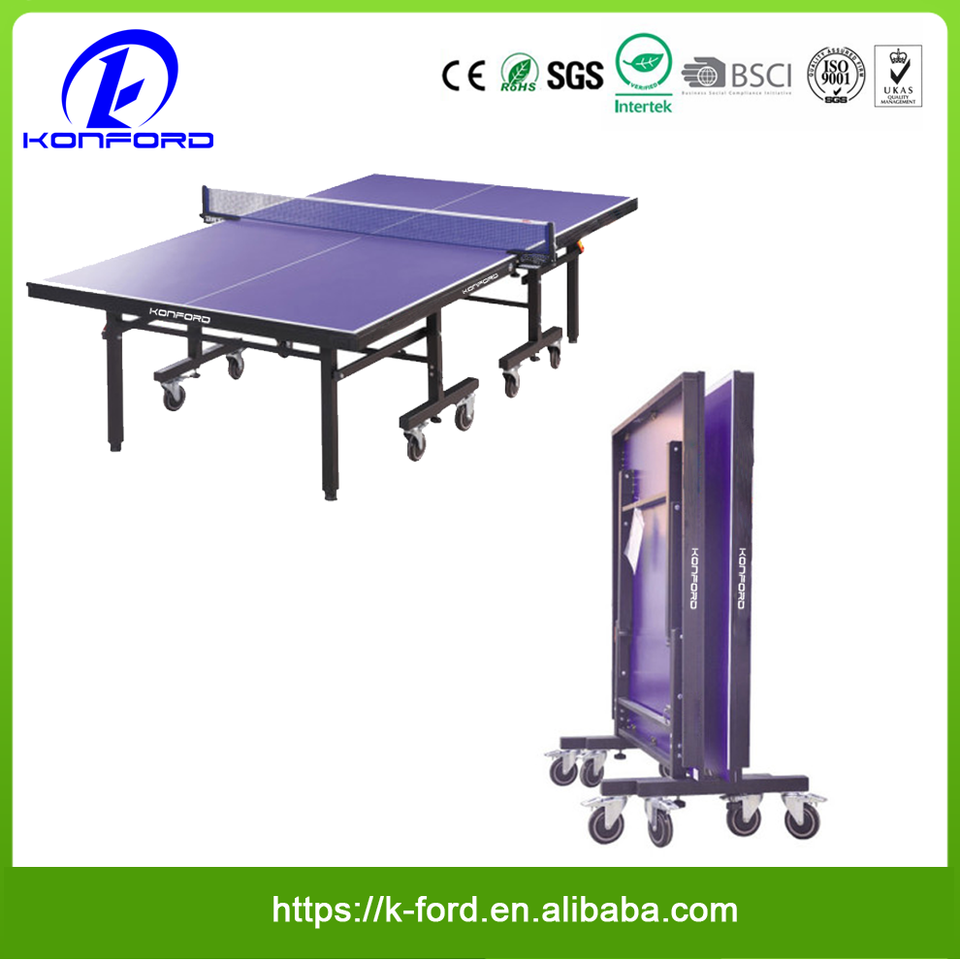 - Cheap Price Outdoor Table Tennis Folding Table Standard Size Ping