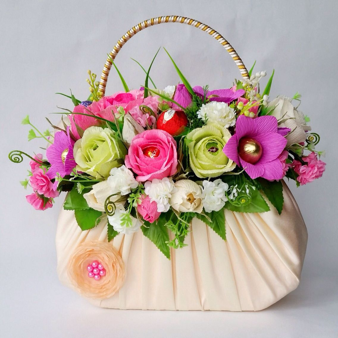 кто-нибудь них букеты цветов фото в декоративных сумках всегда