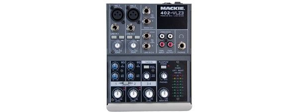 Mackie 402VLZ3  4-Channel Compact Professional Mixer