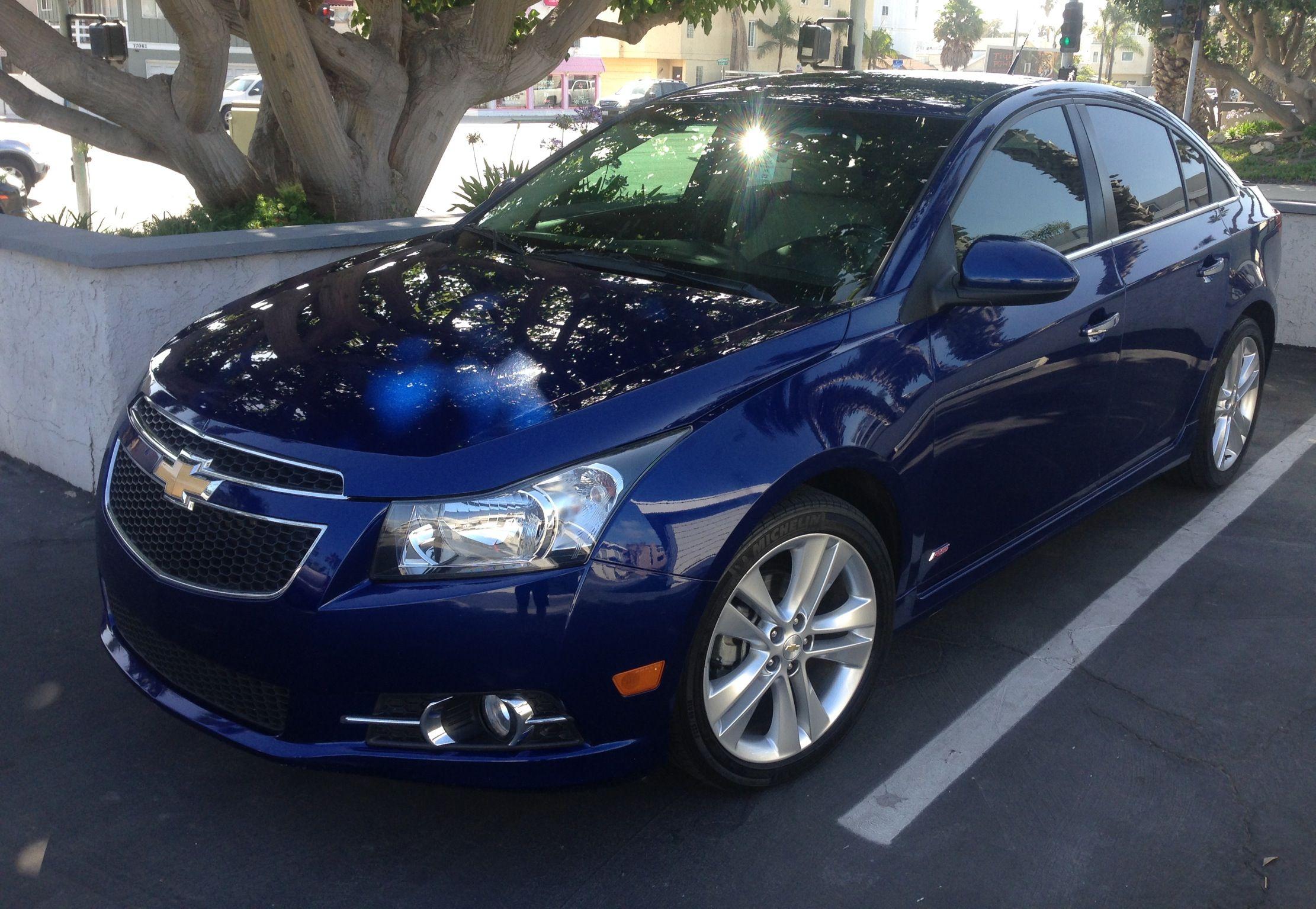 Chevy Cruze Ltz Rs Sapphire Blue Metallic Pre Mods Chevy Cruze