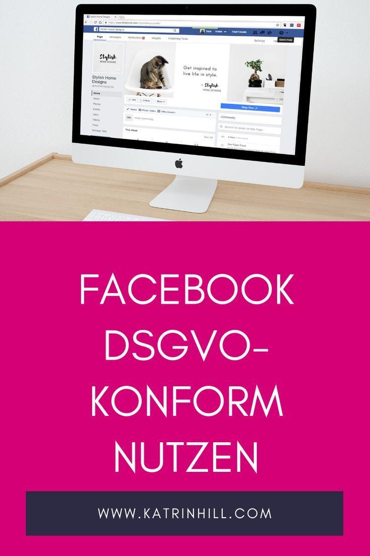 Dsgvo Facebook Seitenbetreiber