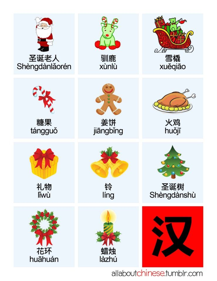 圣诞快乐! Merry Christmas! Chinese christmas, Chinese pinyin