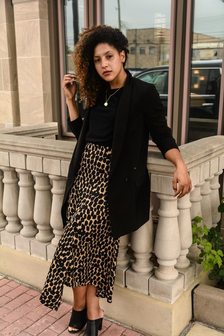 How to Wear Leopard Print to Work