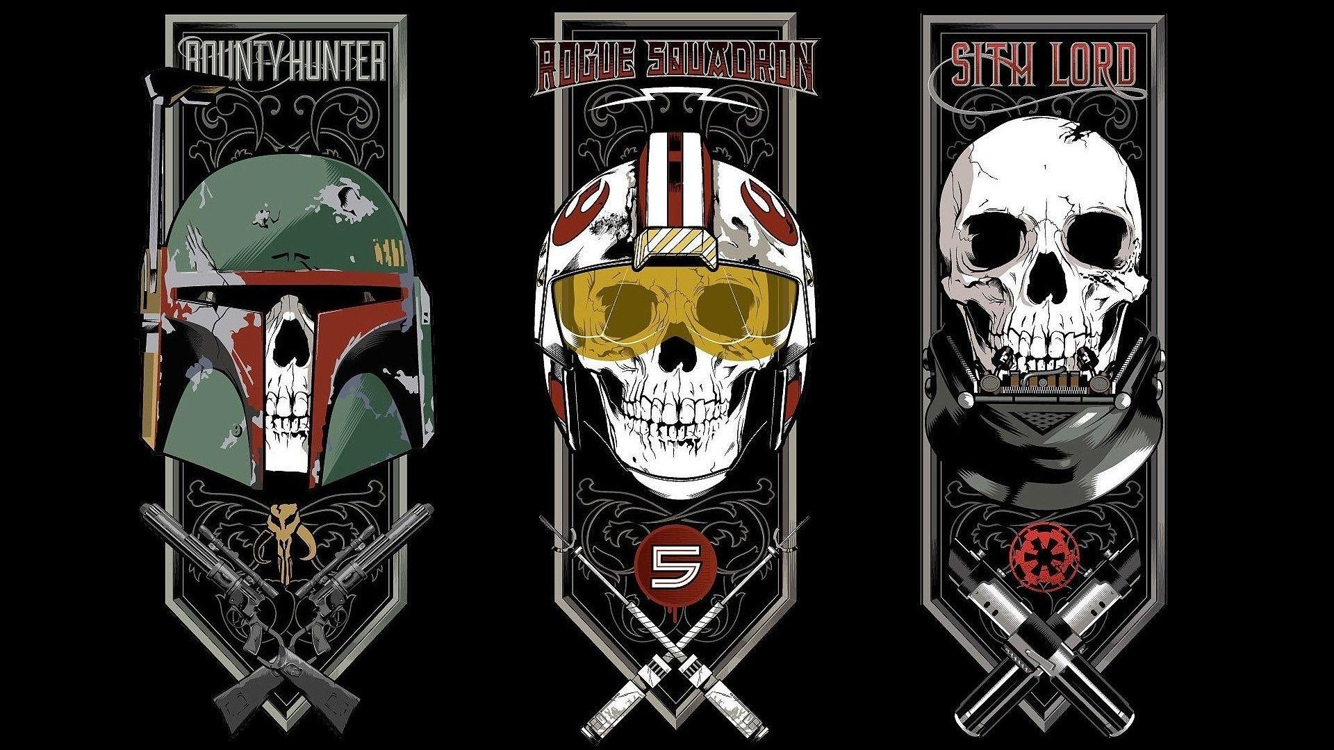 Download Wallpaper Star Wars Sake Gun Darth Vader Sith Lord Weapon Rifle Revolver Bones Pilot Pearls Bounty Hunter Rogue Squadron