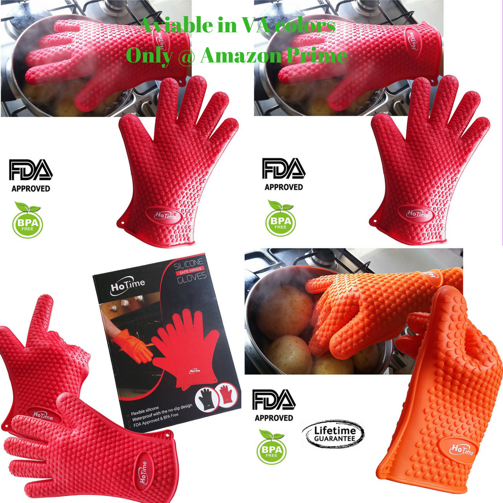 best authentic sleek cheap sale bbq bbq ribs grill heat gloves silicone gloves amazon | Heat ...